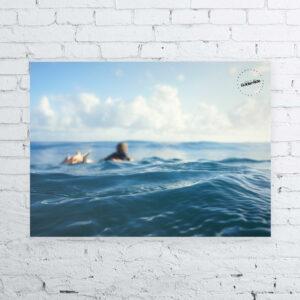 Surfposter Golden Ride