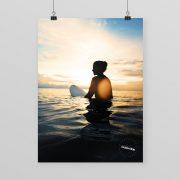 Surfposter Bali