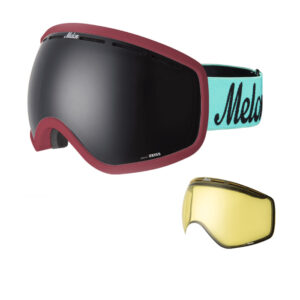 melon optics-goggle-chief-burgundy-mint-black-yellow