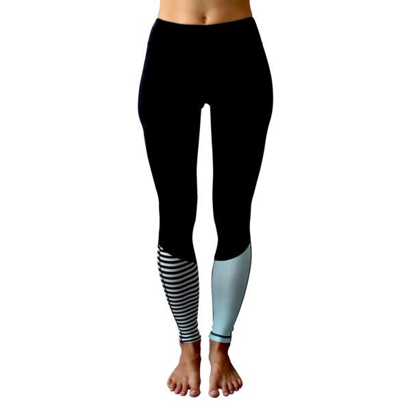Zealous Clothing Sirena Surf Leggings front