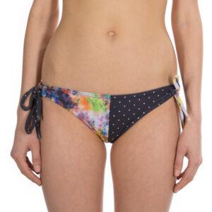 Hi Oceanlovinggirls Surf Bikini Pant barrel colours dots front