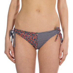 Hi Oceanlovinggirls Surf Bikini Pant barrel colours leo stripe front