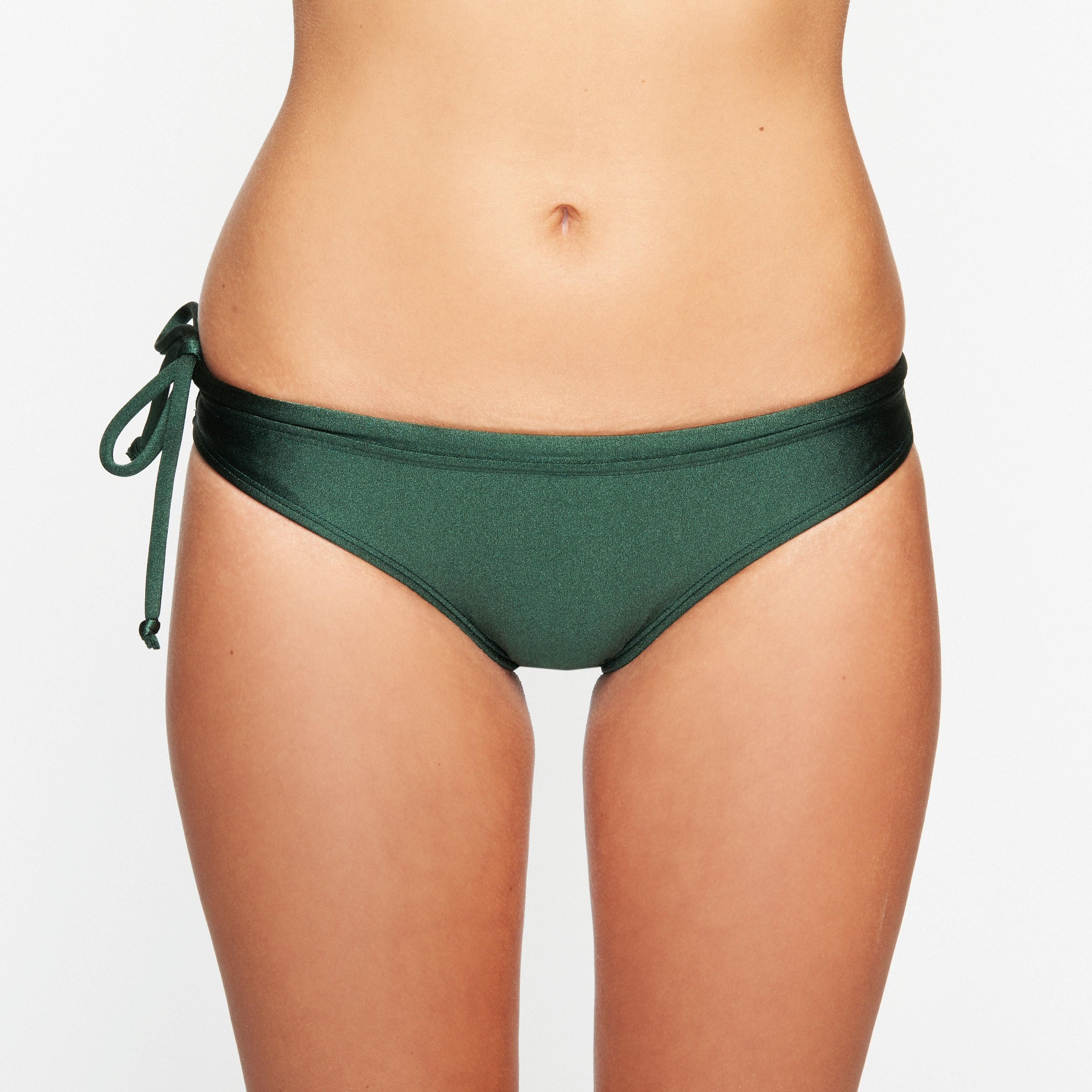 OY Apparel Sumba Bikini Pant Hijau Botol front