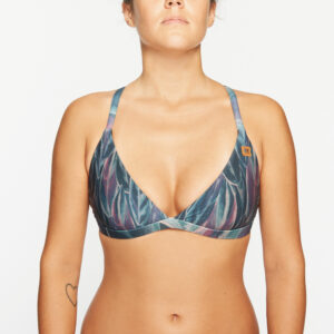 Surfbikini Top Malea Feather Dark OY Apparel front