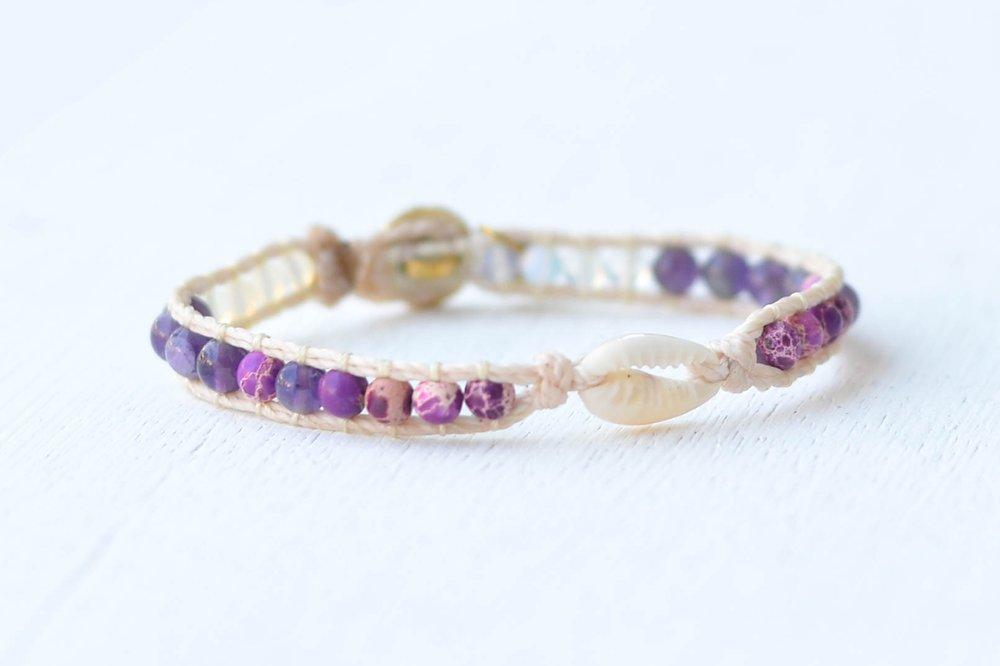 Shimmy Bracelets Waiola Single Wrap