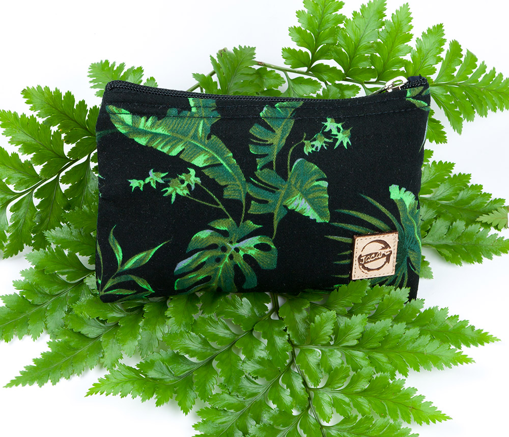 Mini Wallet Tropical Garden