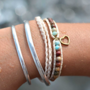 Shimmy Bracelets - Warmhearted Double Wrap Bracelet