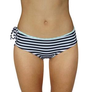 Zealous Clothing Radical Hipster Bottoms blk white stripe mint gloss