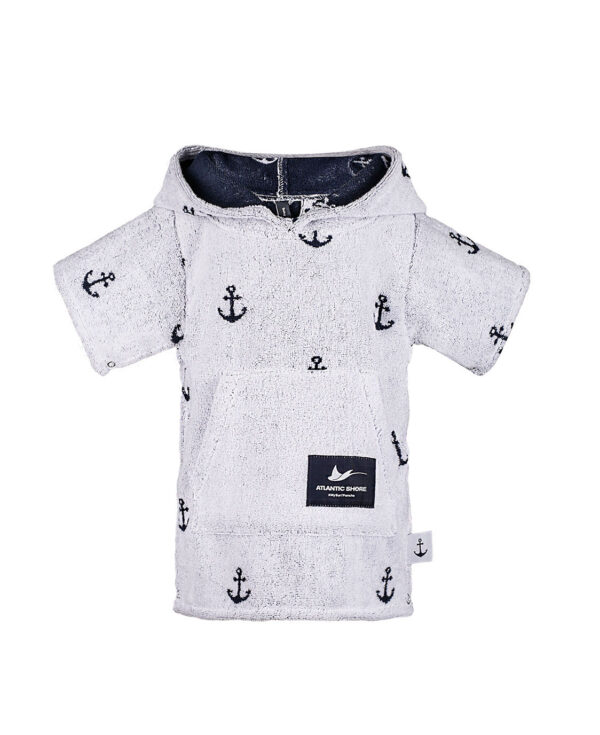 Surf-Poncho - Atlantic Shore - Anchor Baby Offshore White