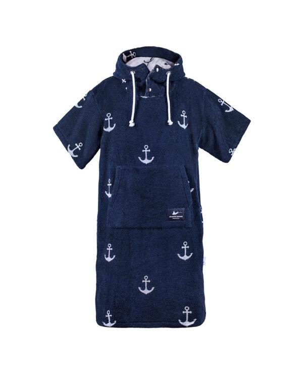 Surf-Poncho - Atlantic Shore - Anchor Navy Blue