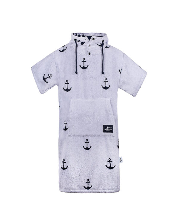 Surf-Poncho -Atlantic Shore - Anchor Offshore White