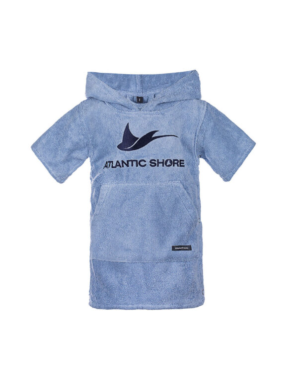 Baby Surf Poncho Basic Light Blue- Atlantic Shore