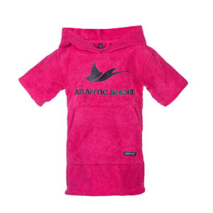 Baby Surfponcho Basic Pink - Atlantic Shore