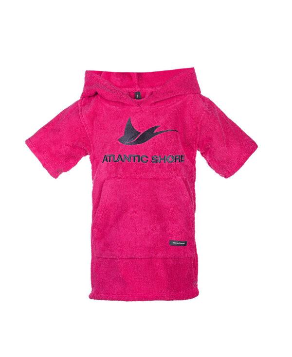 Baby Surfponcho Basic Pink - Atlantic Shore