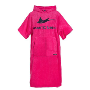 Surfponcho Atlantic Shore Basic Pink