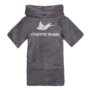 Kids Surfponcho - Atlantic Shore - Basic Grey