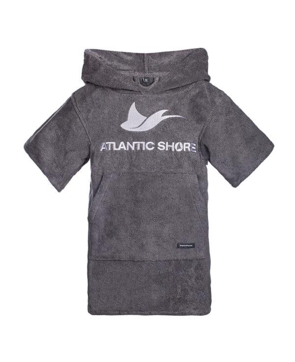 Kids Surfponcho - Atlantic Shore - Basic Grey