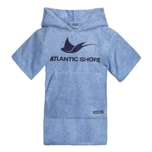 Kids Surf-Poncho - Atlantic Shore - Basic Pink