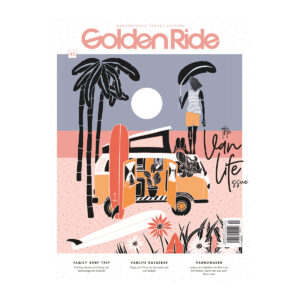 Golden Ride Vanlife Ausgabe, Vanlife Magazine