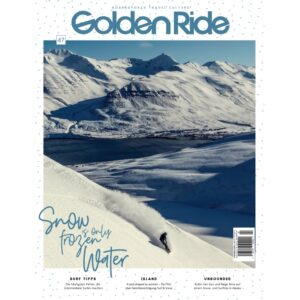 GoldenRide_Cover47_Snow is Only Frozen Water
