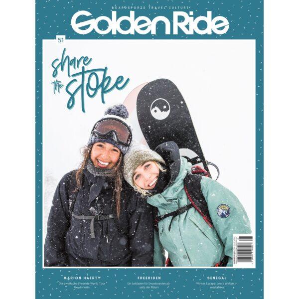 Golden Ride Ausgabe 51 Share the Stoke