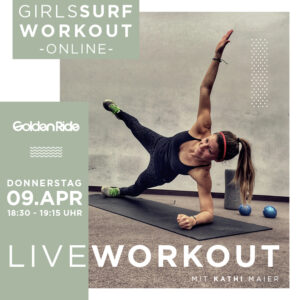 Girls Surf Workout live 09042020