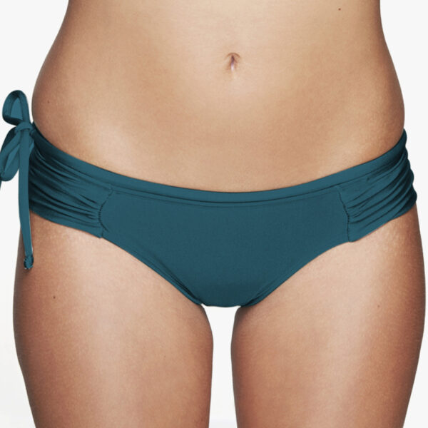 Surf Bikini Pant Rote von VEY Apparel in bottle green