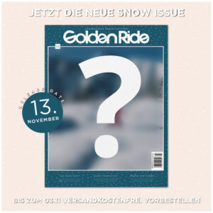 Snowboardmagazin Golden Ride